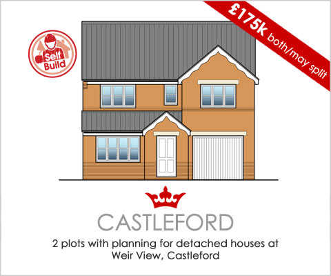 build your own home in Castleford, West Yorkshire
