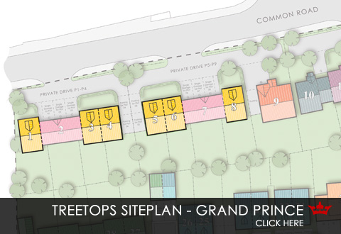 Siteplan for Treetops