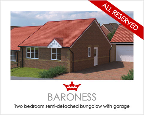 The Baroness - a new house by Noble Homes