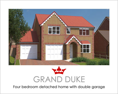 The Grand Duke - a new build house by Noble Homes