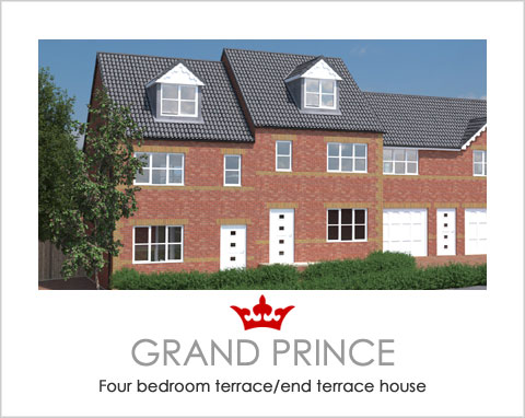 The Grand Prince - a new build house by Noble Homes