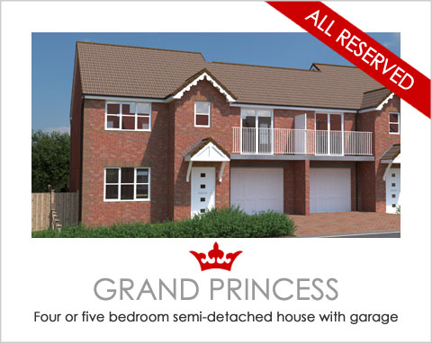 The Grand Princess - a new build house by Noble Homes