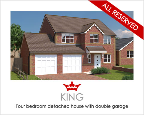 The King - a new build home by Noble Homes
