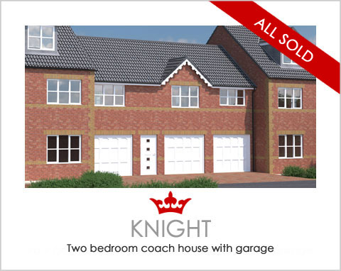 The Knight - a new build house by Noble Homes