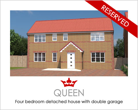 The Queen - a new build home by Noble Homes