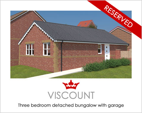 The Viscount - a new build house by Noble Homes
