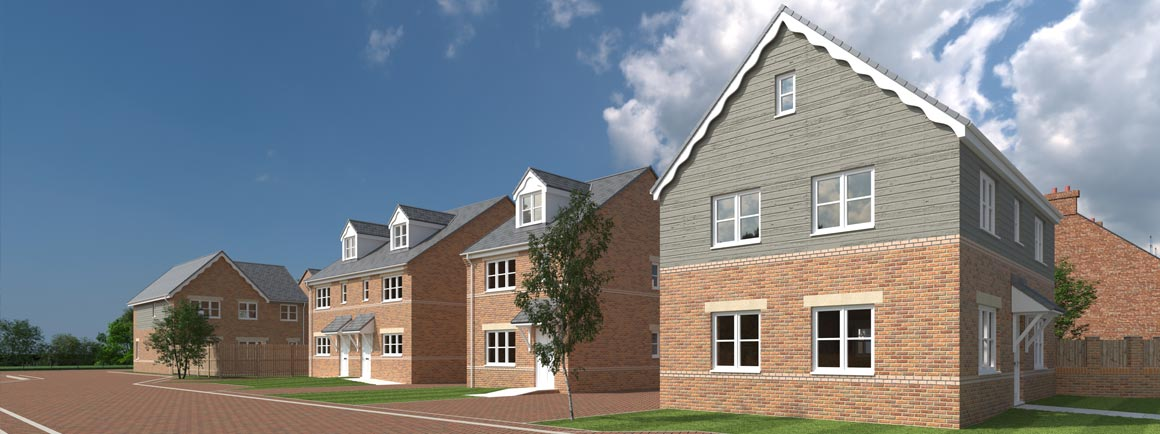 Water View - new housing development in Castleford, Pontefract