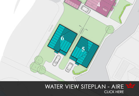 Siteplan for Water View, Pontefract