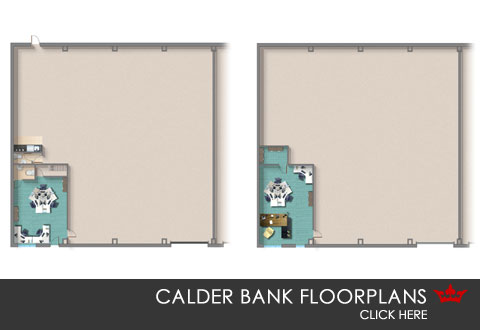 Calder Bank flooplans and dimensions