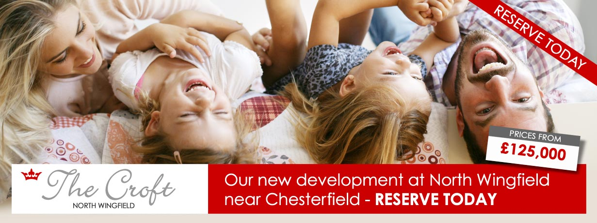 The Croft - new build homes at North Wingfield, Chesterfield