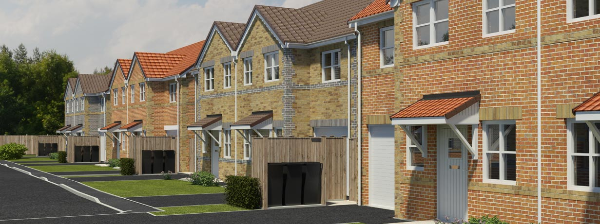 Firtree Court - new housing development in Knottingley, Pontefract