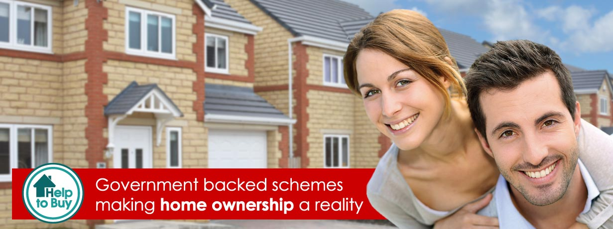 Government backed Help to Buy schemes