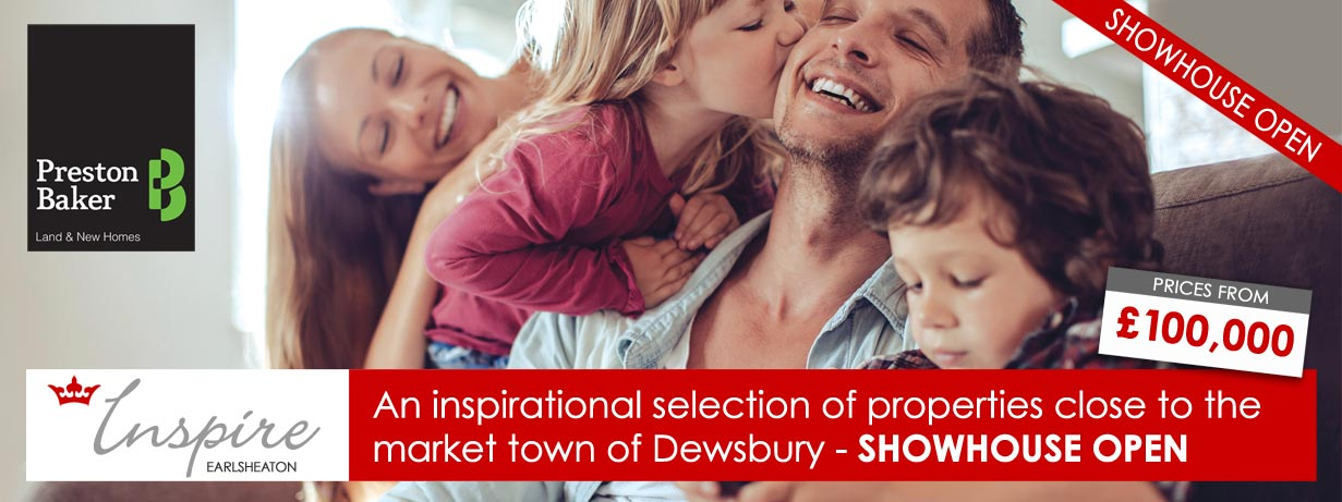 New homes for sale Dewsbury near Leeds