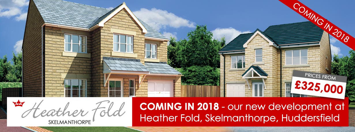New family homes near Huddersfield