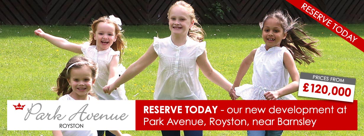 Park Avenue - new housing development in Royston